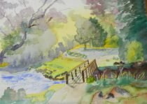 Bridge Near Enniskerry Ireland  von Warren Thompson