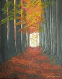 Autumn Path by Brandy House