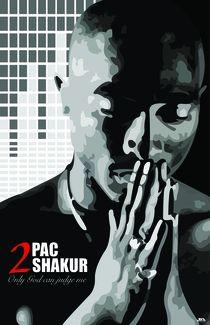 Tupac Shakur by Josh Doty