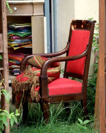 Red Chair by Lainie Wrightson
