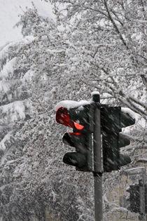 Stop the snow! by Raffaella Lunelli