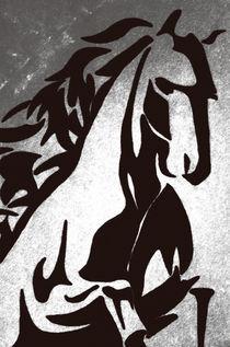springendes Pferd von Günther Lippl