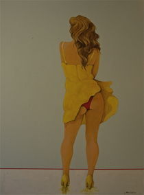 Yellow Dress by Peter Wedel