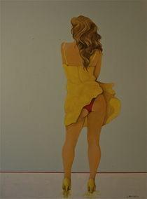 Yellow Dress von Peter Wedel