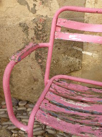 Pink Chair by Lainie Wrightson
