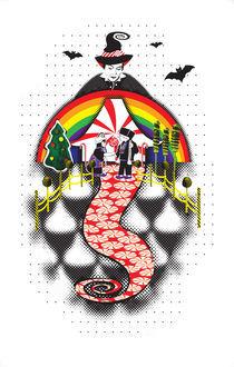 Hansel & Gretel Enter Candyland by Jessa Wilcoxen