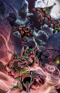TMNT in the Big Easy von Chris  Foreman