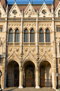 Hungarian Parliament Building by Evren Kalinbacak