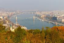 Danube River, Budapest, Hungary by Evren Kalinbacak