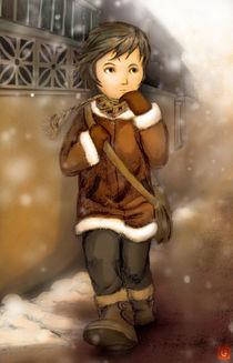 Winter Girl von Geronimo Santillan