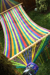Rainbow Hammock by Ashley Robertson