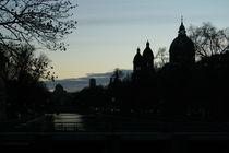 münchens abend silhouette von Dorothee Altenhöfer