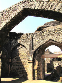 ruins of forts at mandu by AAYAM communication