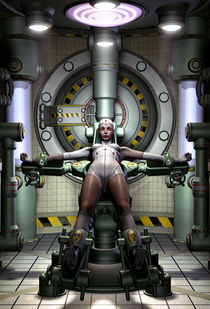 Android girl by Luca Oleastri