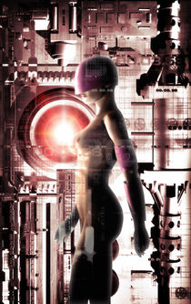 Cyberspace girl by Luca Oleastri