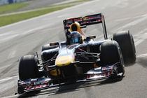Race winner Sebastian Vettel (GER) Red Bull Racing RB7