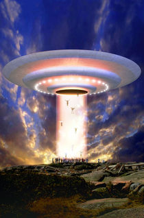 UFO mass abduction von Luca Oleastri