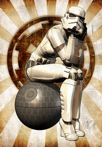 Stormtrooper girl by Luca Oleastri