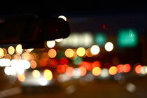 Highway night lights. by olivia-antariell