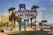 Welcome To Las Vegas Sign Series 1 of 6 by Ricky Barnard
