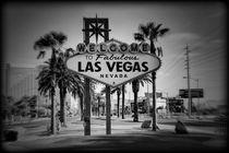 Welcome To Las Vegas Series 3 of 6 Holga Black and White von Ricky Barnard