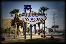 Welcome To Las Vegas Series 4 of 6 Holga Color von Ricky Barnard