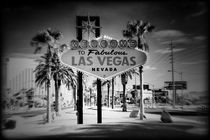 Welcome To Las Vegas Series 5 of 6 Holga Infrared by Ricky Barnard