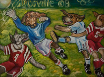 Cool Dogz like Football von Aleksandr Trachishin