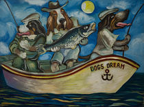 Cool Dogz like Fishing von Aleksandr Trachishin
