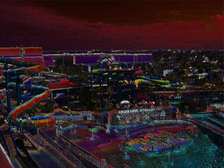Daytona-lagoon-water-rides-red-sky-edit-copy