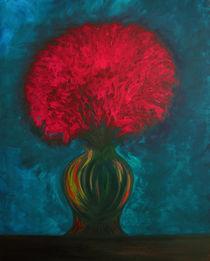 Flamimg Flowers von Pauline Thomas