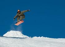 Snowboard jump von Victoria Savostianova