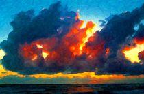 Himmelsfeuer von Eckhard Röder