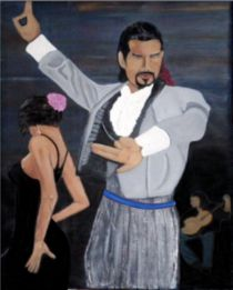 Flamenco Male Dance. by Mark Shearman