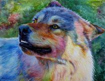Grey Wolf by Kelly McNeil