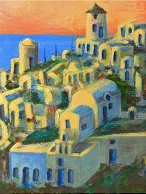 Oia, Santorini von Randy Sprout