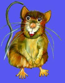 Cartoon Rat by Mark Shearman