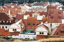 Red roofs von Asya Kolokolova