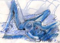 Blue Nude von Dan McGibbon