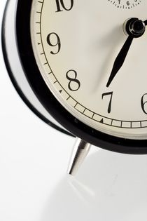 Traditional alarm clock by Peter Zvonar