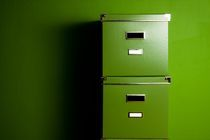Green boxes by Peter Zvonar