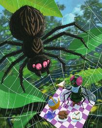 spider picnic von Martin  Davey