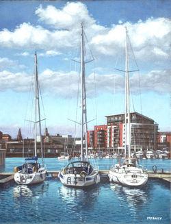 Painting-southampton-ocean-village