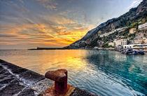 Sunset in Amalfi von Giuseppe Maria Galasso