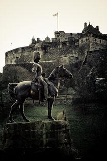 Scots Grey Guards Horseman von Jürgen Creutzburg