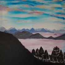 Berglandschaft von Ka Wegner