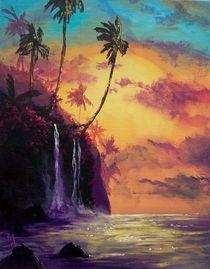 Sunset Falls von Marco Antonio Aguilar