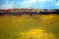 Abstract Landscape von Michelle Calkins