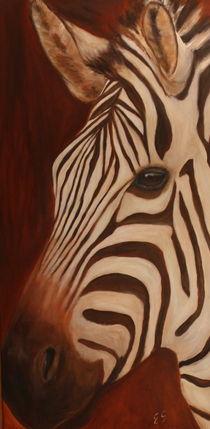 Zebra von Elke Sommer