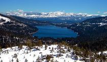 Donner Lake Sierra Nevadas by Frank Wilson